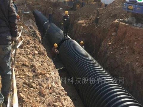 郑州1600钢带聚乙烯波纹管价格