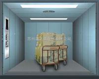 苏州2000KG中分双折曳引式载货电梯